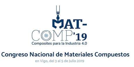 MATCOMP19 - XIII Edición del Congreso Nacional de Materiales Compuestos entradas