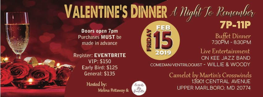 Valentine's Dinner - A Night To Remember
