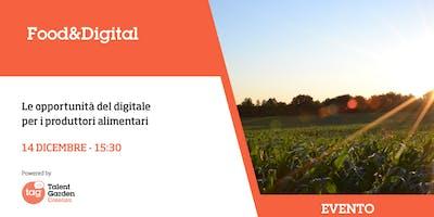 Le opportunità del digitale per i produttori alimentari