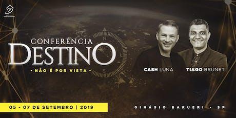 Conferência Destino 2019 bilhetes