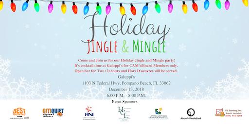 Por In Pompano Beach Holiday Jingle And Mingle Party