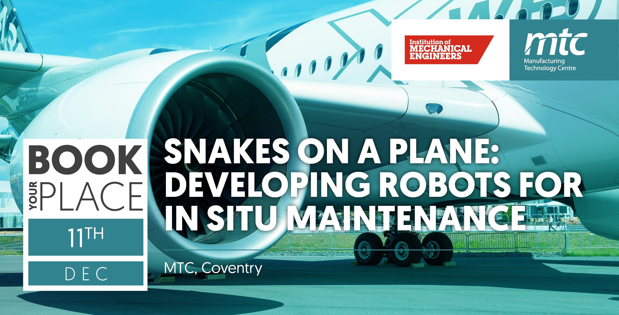 Snakes on a plane: developing robots for in s