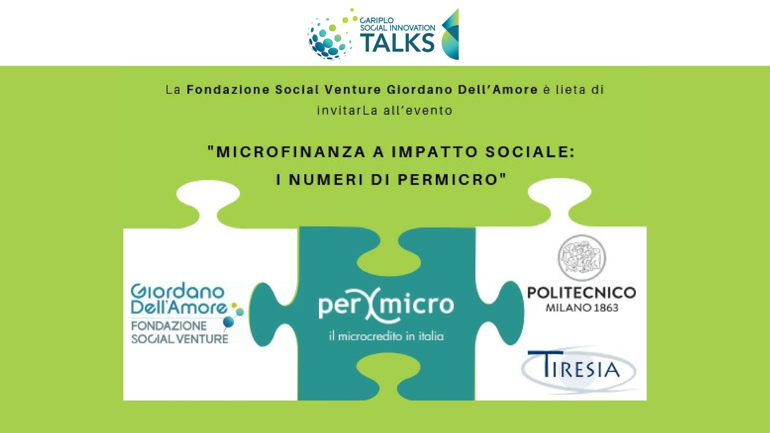 Microfinanza a impatto sociale: i numeri di P