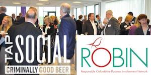 ROBIN Network Christmas drinks 2018
