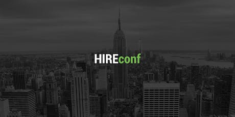 HIREconf NYC 2019 tickets