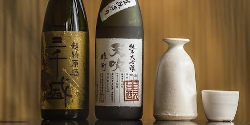 Sake masterclass