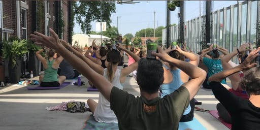 The Real Beer Yoga - July Session