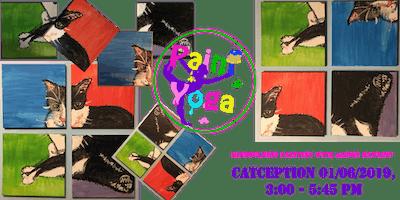 Paint Yoga, mindfulness painting class