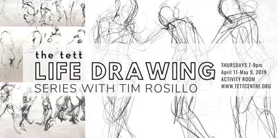 Life Drawing with Tim Rosillo