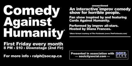 Comedy Against Humanity tickets