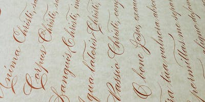Workshop Matizes Caligráficos (Copperplate) com Christopher Hammerschmidt