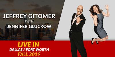 Jeffrey Gitomer LIVE with Jennifer Gluckow in Dallas/Fort Worth Fall 2019