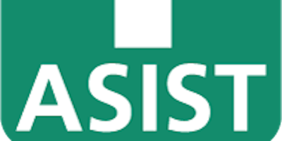 ASIST - Applied Suicide Intervention Skills Training: May 15th and 16th, 2019