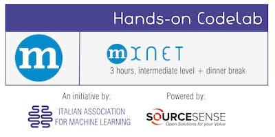 Codelab MXNet (3 ore, livello intermediate)