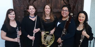 """OSM Woodwind Quintet \""""Music From Around the World\"""" - Fireside at the Miles"""