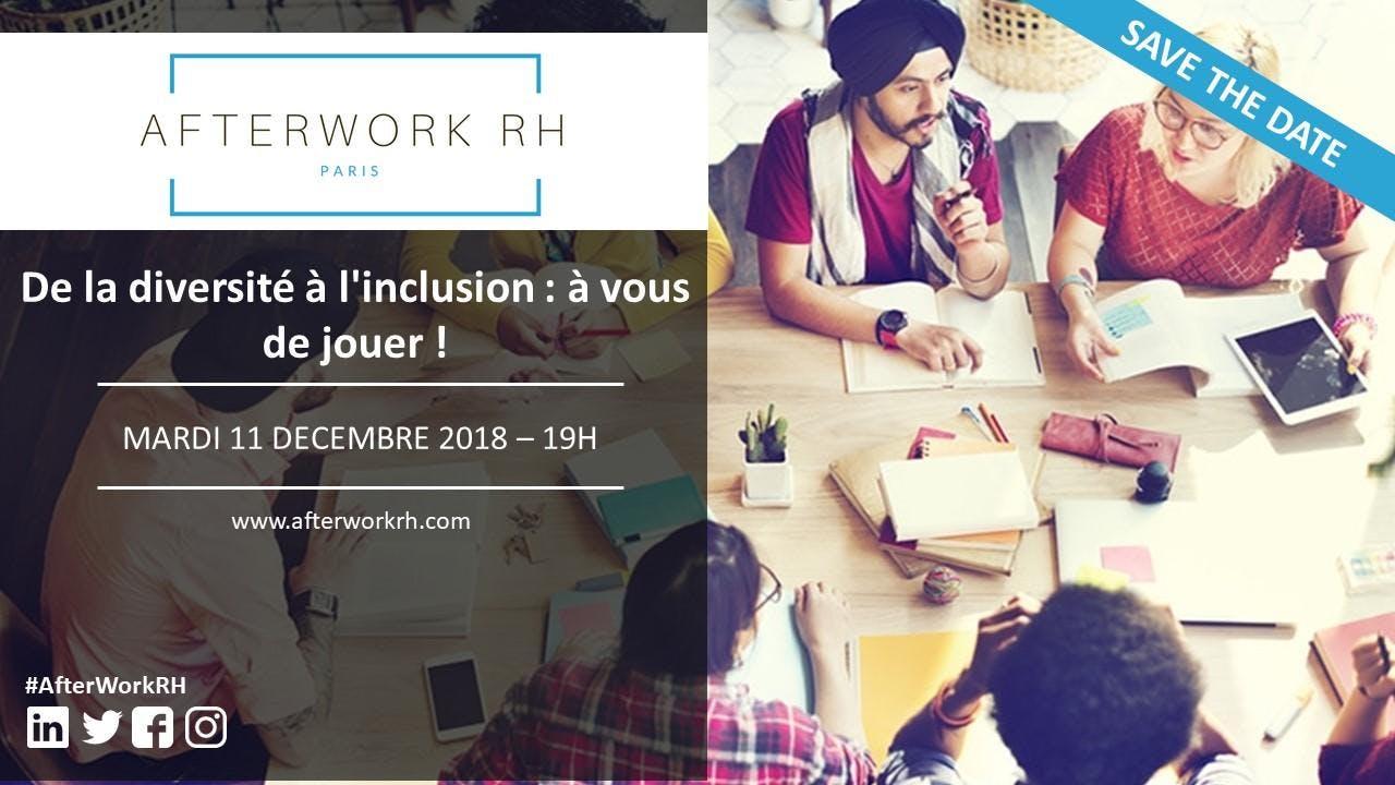 AfterWork RH Paris - De la diversité à l'incl