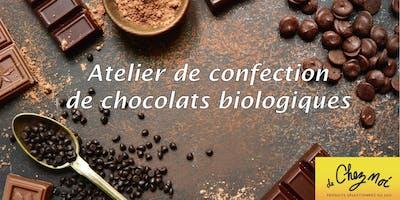 Atelier de confection de chocolats biologiques dans Villeray