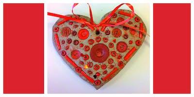 Date Night- Valentine Heart Mosaics (3-9 Years)