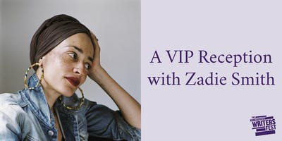 An Intimate Reception with Zadie Smith