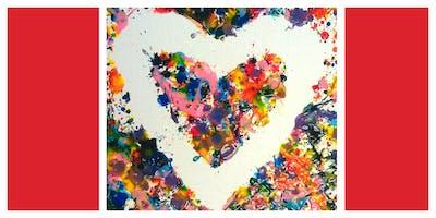 My Messy Valentine Workshop (18 Months-6 Years)