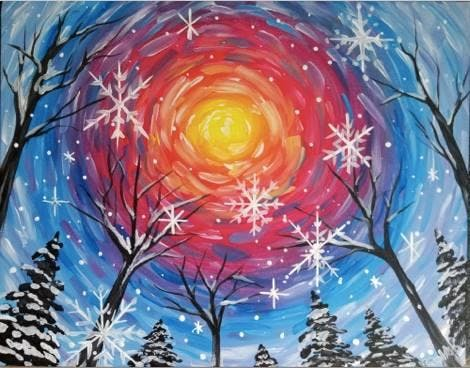 Paint Night Fundraiser for Refugees