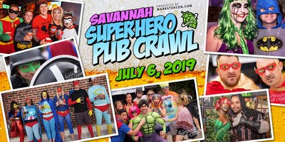 SuperHero Pub Crawl (Savannah, GA)