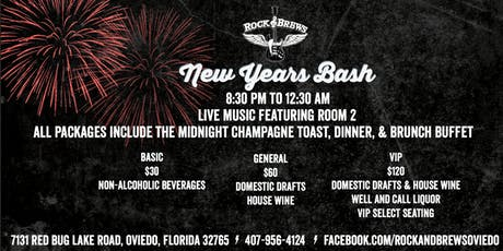 New Year\'s Eve 2019 at Howl at the Moon Orlando! Tickets, Mon, Dec ...