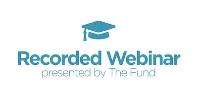 Navigating the Closing Disclosure Form - Recorded Webinar