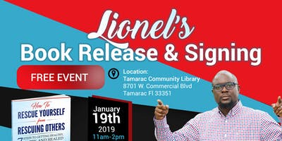 Lionel's Book Release & Signing