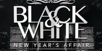 Whiskey Bar - Black & White NYE