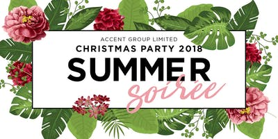 Summer Soirée - Accent Group Christmas Party 2018