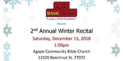 Winter Wonderland Recital 2018