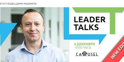 Leader Talks с Мартин Попов и гост-водещ Дарин Маджаров