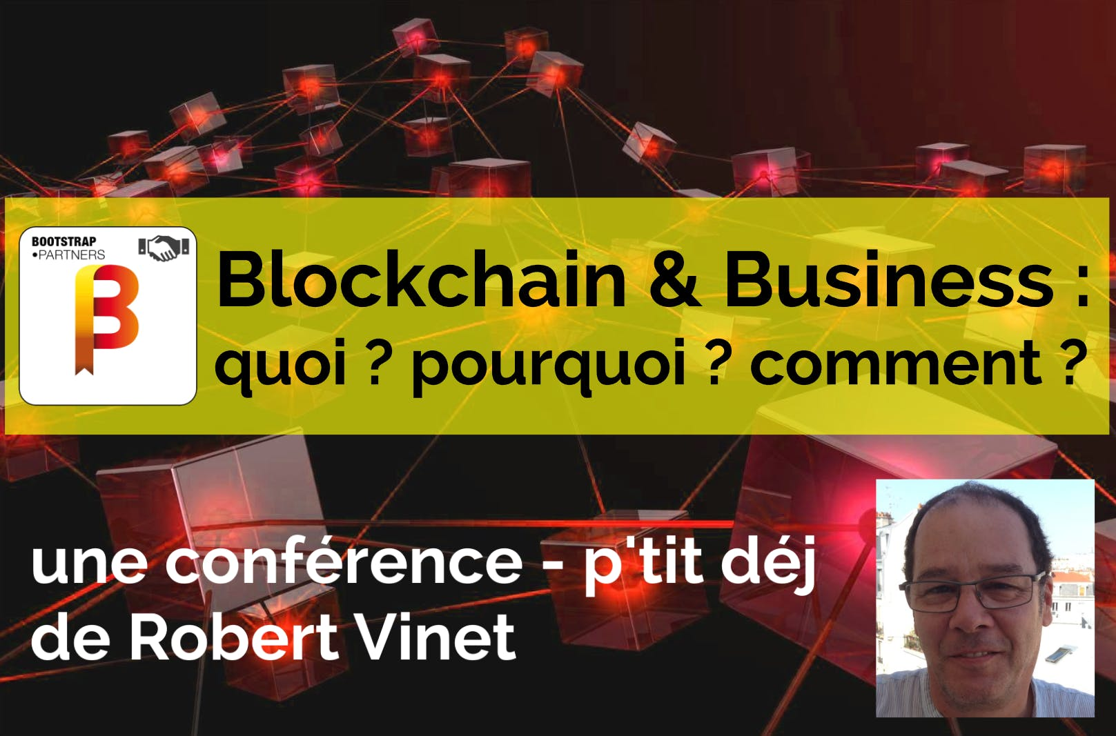 Blockchain & Business : 90', du café et des c