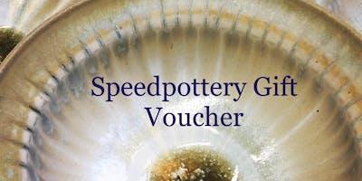 Speedpottery Gift Voucher for 2 people