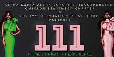 111 Party by Omicron Eta Omega Chapter of Alpha Kappa Alpha Sorority, Inc.