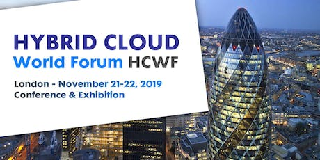Hybrid Cloud World Forum  • LONDON tickets