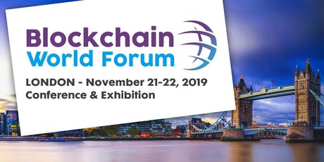 Blockchain World Forum · London tickets