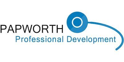 Royal Papworth CALS Course - 17th November 2019