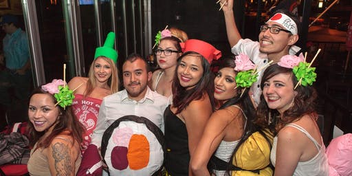 V1 - (Almost Sold Out) 2019 Denver Halloween Bar Crawl (Saturday)