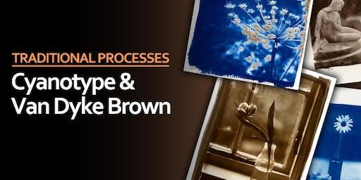 Cyanotype & Van Dyke Brown Printing