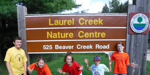 Nature Adventure Day Camp at Laurel Creek Nature Centre- Summer 2019