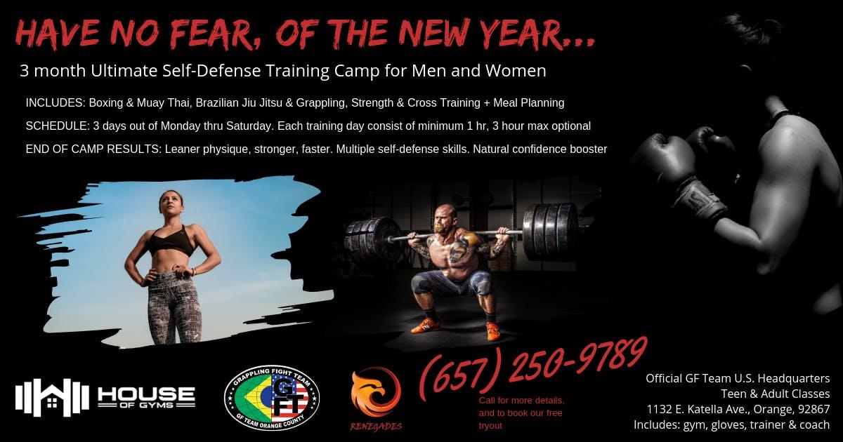 Ultimate Self-Defense Training Camp