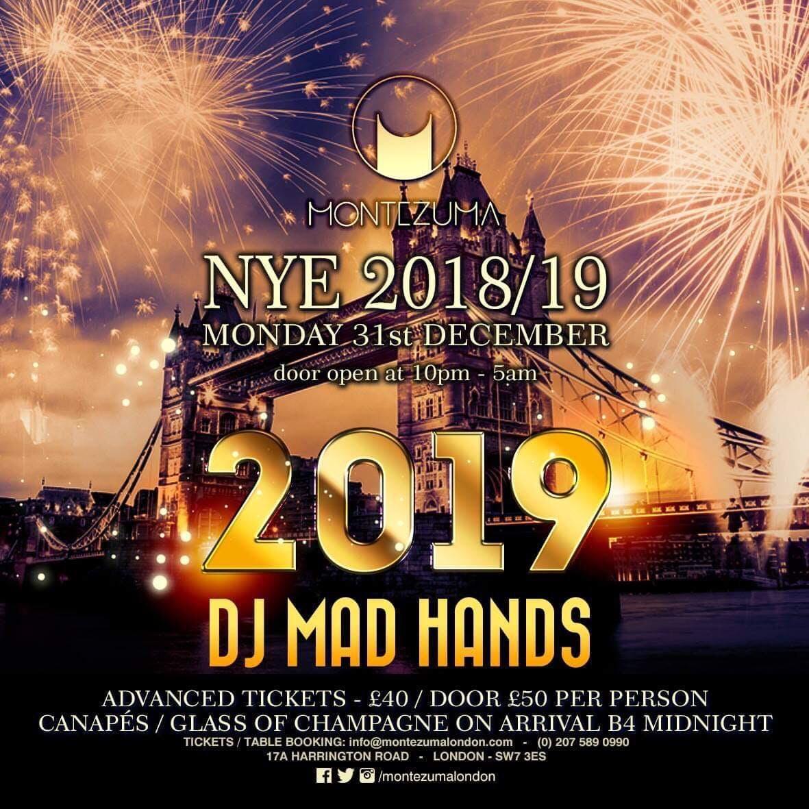 Montezuma New Years Eve 2018 - 2019