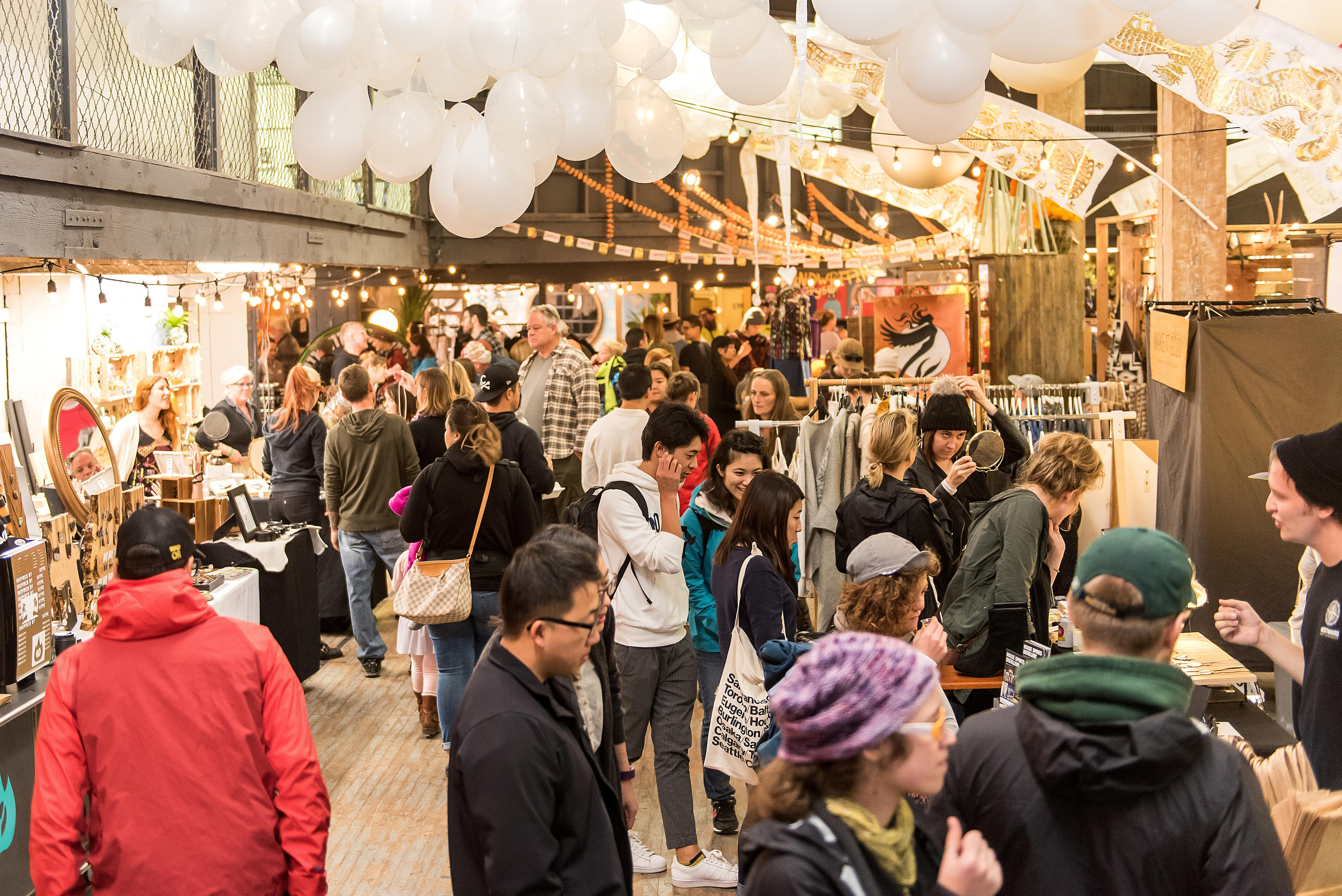 Portland Night Market VIP & Holiday Preview N