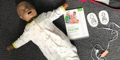 Day Paediatric First Aid - Broadstairs (25 - 26 March 2019)