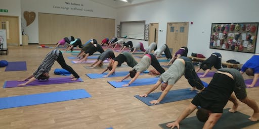 Do Yoga on Wednesdays at 7.45pm in West Wick