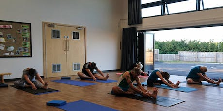 Do Yoga on Mondays at 7pm in West Wick tickets