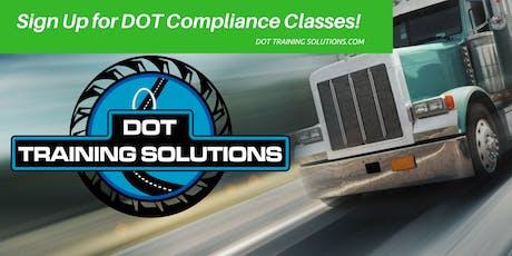 DOT Compliance Workshop, Orlando, Fl tickets