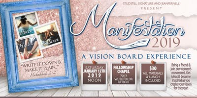 Manifestation 2019 - A Vision Board Experience
